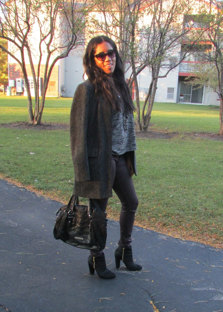 Fall Leopard Jacket
