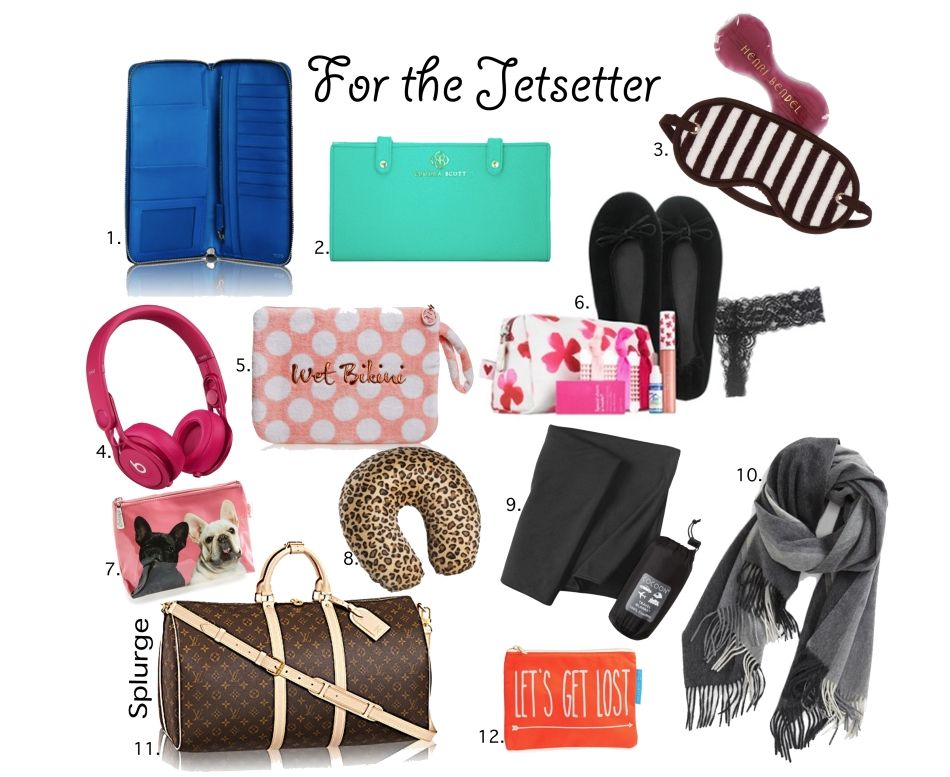 Gift Guide For the Jettsetter