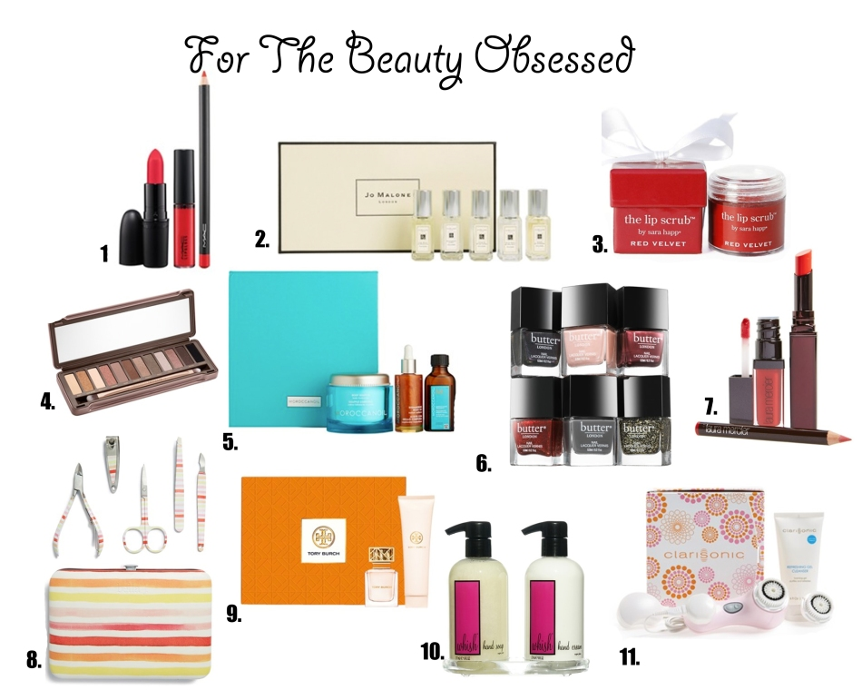 Gift Guide for the Beauty Obsessed